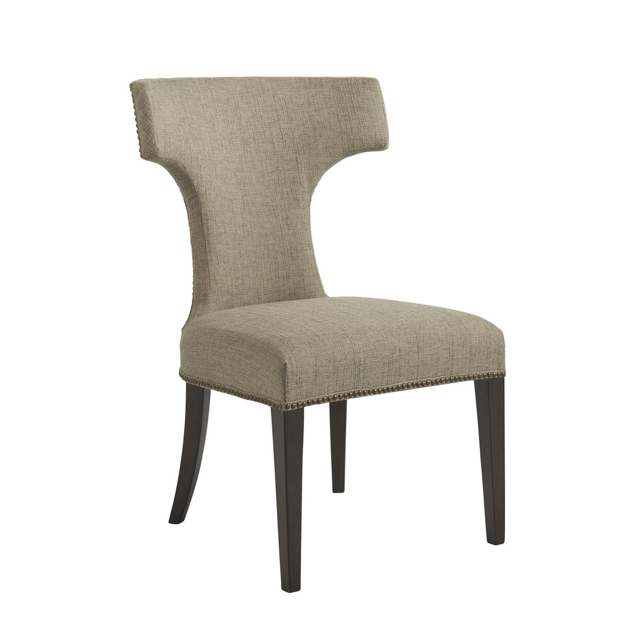 Curved Back Chair Soliloquy Curved Back Upholstered Dining Chair