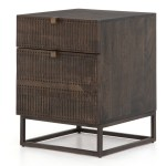 Kelby Wood And Iron 2 Drawer Filing Cabinet Zin Home