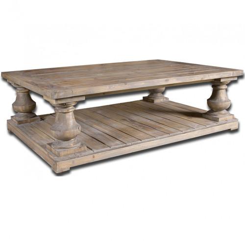 rustic reclaimed wood coffee tables