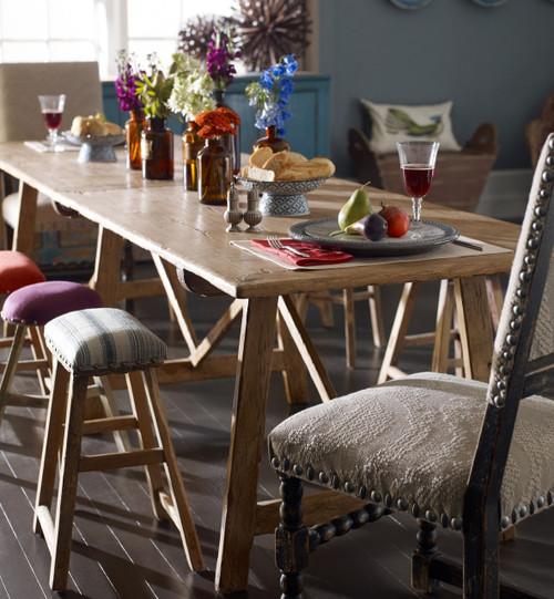 Van Thiel Solid Walnut Rustic Dining Room Table 121 Quot Zin
