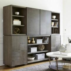 Media Chest For Living Room Fendi Furniture Playlist Vintage Oak Stacking With Sliding Doors Zin Home