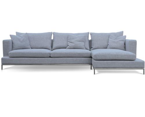 grey tweed sectional sofa cheap sofas with sleepers soho concept simena zin home