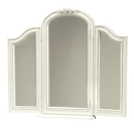 Rosalie Kids Bedroom Vanity Mirror  White  Zin Home