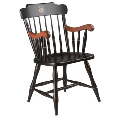 Captains Chair Round And A Half Dartmouth College Captain S Wooden Wit