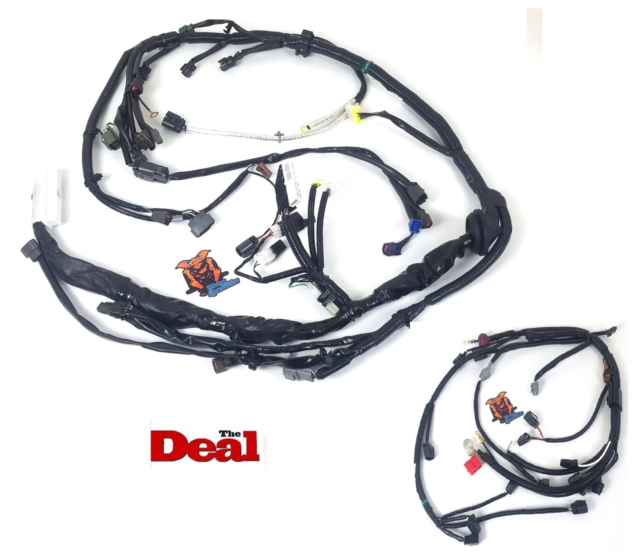 hight resolution of wiring specialties s14 240sx ka24de wiring harness combo oem series tf works touge factory