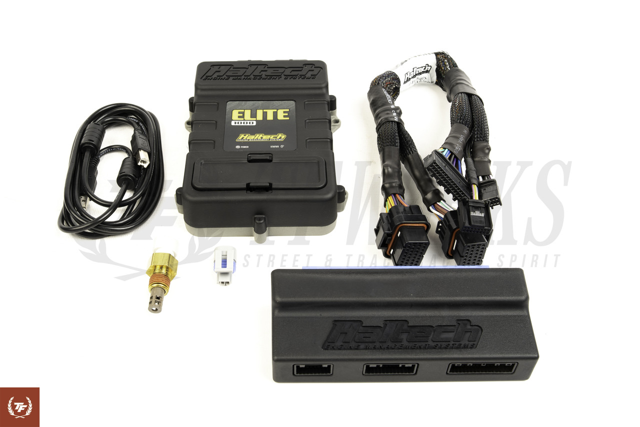 haltech elite 1000 ecu with s13 sr20det plug and play pnp adapter harness  [ 1280 x 853 Pixel ]