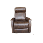 Atlas Electric Leather Recliner Chair Dark Brown My Furniture Store Furniture And Bedding Super Store Australia