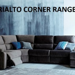 Rialto Sofa Bed Small Scale For Sale Oscar 7 Seat Suede Corner Chaise Online Furniture Bedding Store With As Pictured