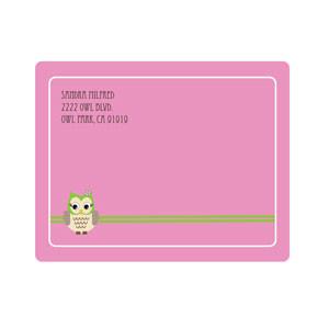 pink owl return address