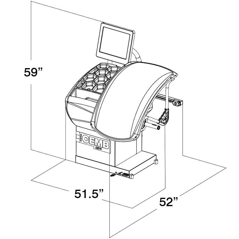 Cemb ER75TD HubMatch Diagnostic Manual Clamping RFV Wheel