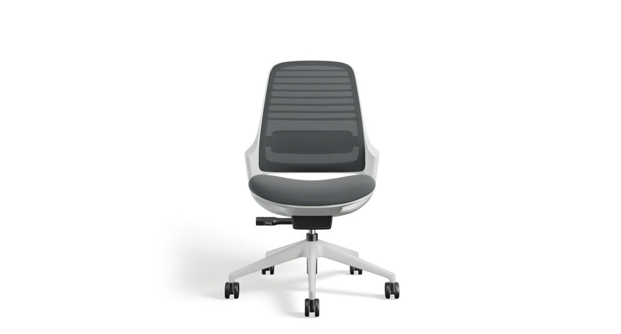 office chair without arms folding design history steelcase series 1 task human solution seagull frame and armless options are available shown here