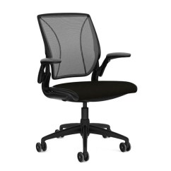 Office Chair Adjustment Levers Clearance Chairs Shop Humanscale Diffrient World Quick Ship Tri Panel Form Sensing Mesh Back Offers Custom Lumbar Support Sans Adjusting And Knobs