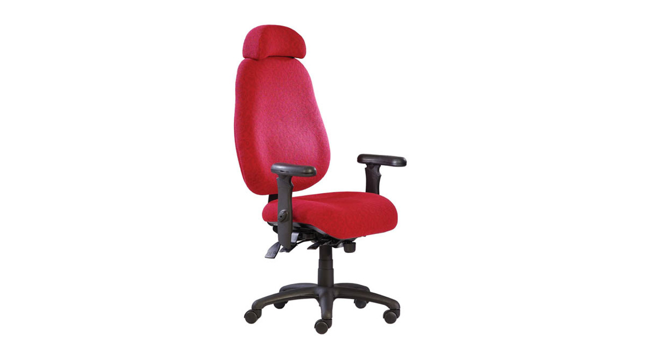 ergonomic chair angle fabric office neutral posture nps6000 series high back adjustable height and