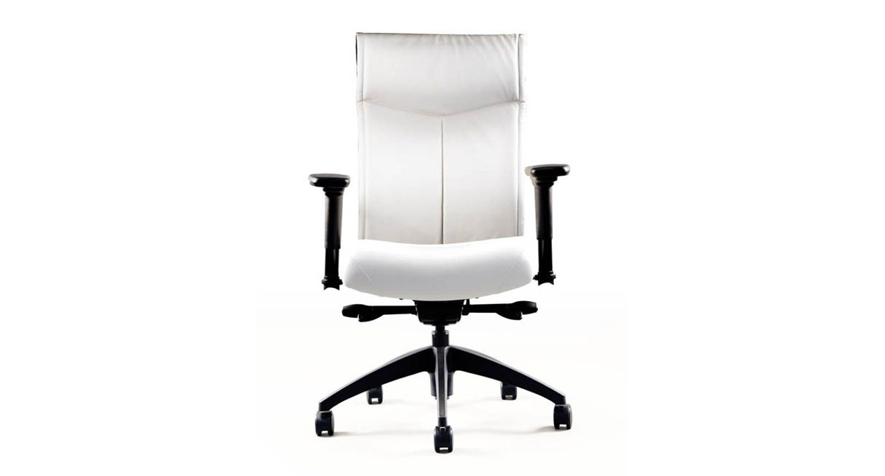 office chair support for upper back cheap baby high chairs neutral posture nv shop executive highly contoured has a height adjustable shell and features built in lumbar