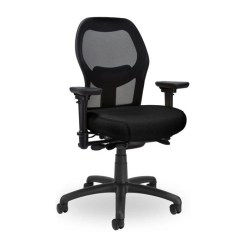 Mesh Task Chair Office Arms Replacement Seating Inc Grid 400 Back Ratchet Height Adjustable