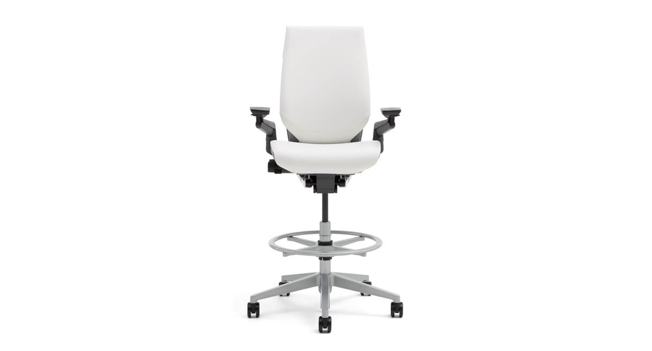 drafting chairs with arms chair seat cushions steelcase gesture stools human solution featuring that raise lower and pivot to support the range of motion
