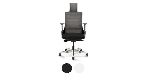 white ergonomic office chair uk toy doll high shop the best chairs desk vert by uplift