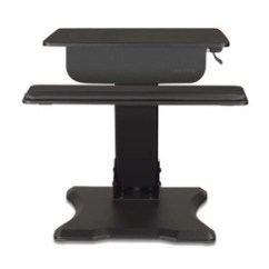 Chairs For Standing Desks Swivel Bar With Backs Desk Stand Up Sit Adjustable Height The Uplift Adapt Converter Is Answer To All Your Workstation Woes