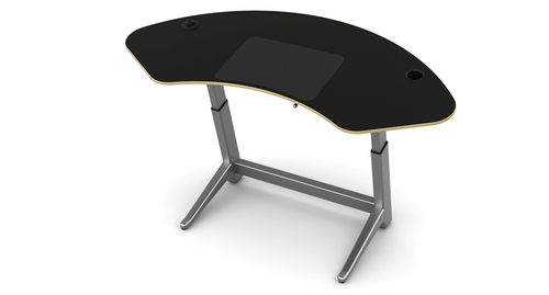 chairs for standing desks floor gaming rocking chair desk stand up sit adjustable height focal sphere
