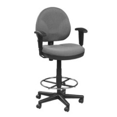 Office Chair Vs Stool Madison Park Chairs Ergonomic Shop The Best Desk Waterfall Seat On Eurotech Drafting With Footring Oss400 Alleviates Pressure Behind Knees To