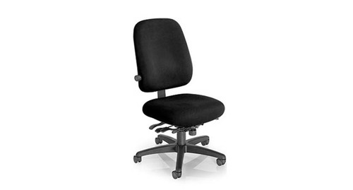 desk chair with wheels swivel outdoor ergonomic shop the best office chairs mild saddle contoured seat cushion on master paramount value pt78