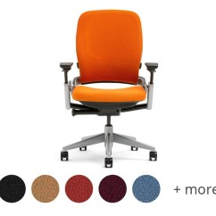 Orange Office Chair Small Club Chairs Steelcase Leap Ergonomic Shop Human Solution Upholster Yours In An Exciting Collection Of Colors