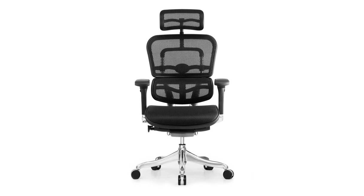 office chair with headrest best folding high shop raynor ergo elite me22erglt the s tilt tension knob allows for simple and quick adjustment
