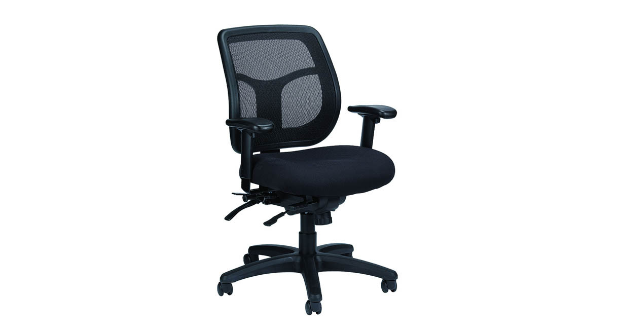 ergonomic chair data circle shaped eurotech apollo mft945sl mesh shop chairs the s new and improved seat slider delivers extra comfort