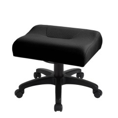 Ergonomic Chair With Leg Rest Queen Anne Style Chairs Ergocentric Shop Rests Memory Foam Cushion Dual Elevation Curves Provides A Soft Resting Surface That Disperses Pressure