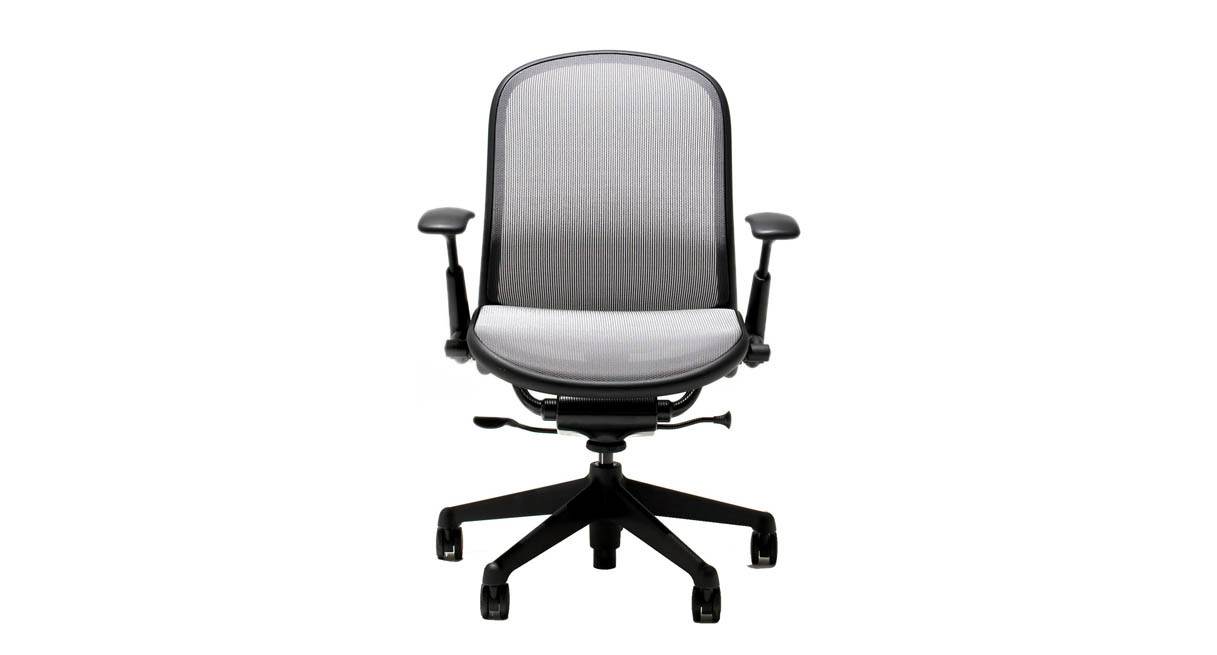 knoll chadwick chair instructions black banquet covers for sale shop office chairs elastomeric construction conforms to your body s shape and reduces pressure points