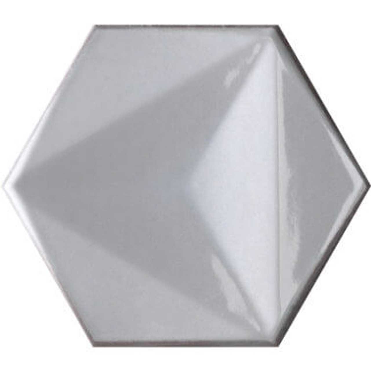 chroma bianco hexagon 6x7