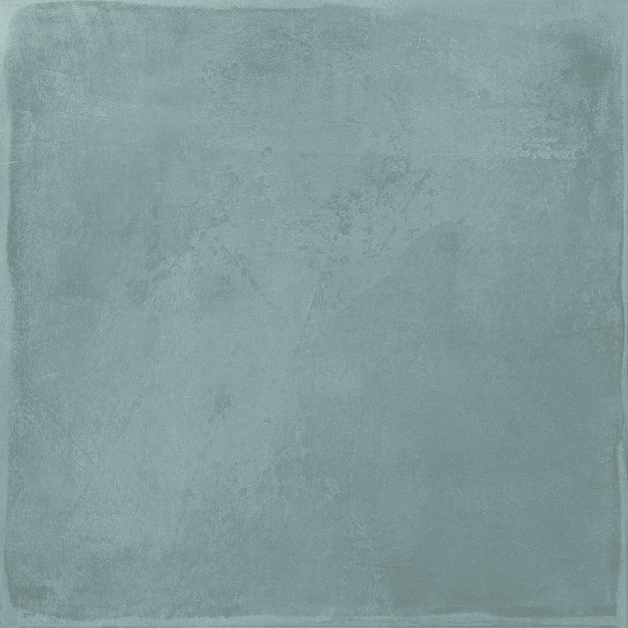 maiolica blue steel matte 8x8 floor tile