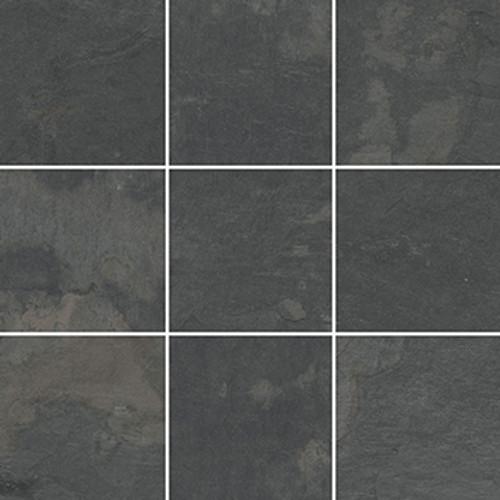 slate anthracite 4x4 mosaic