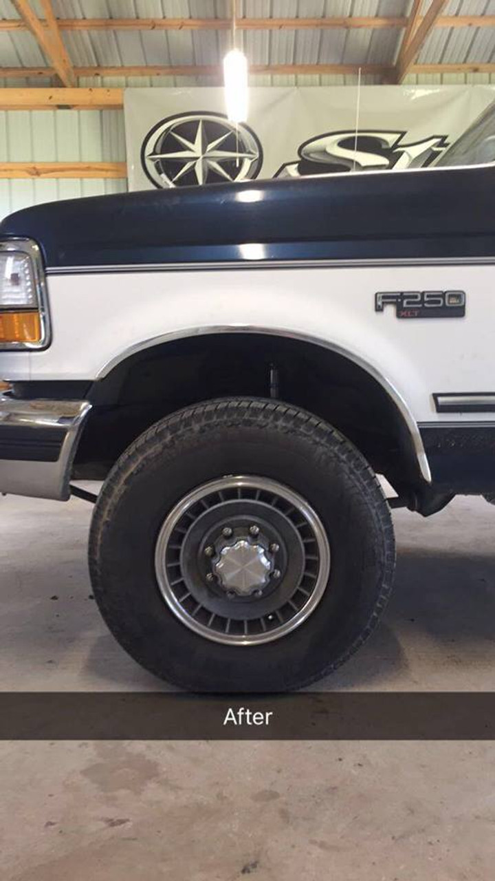 1996 Ford F250 Lifted : lifted, 80-98, Frente, Extensor, Parts, Accessories, Umschuldungsprofis, Truck