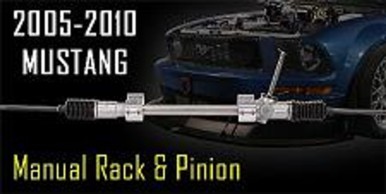 flaming river 2005 2017 mustang manual rack pinion