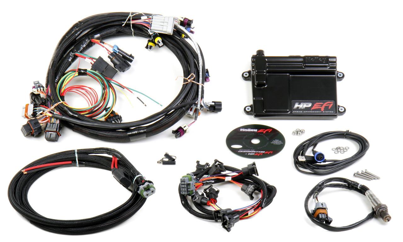hight resolution of holley hp efi 4v modular 4 6 5 4 system