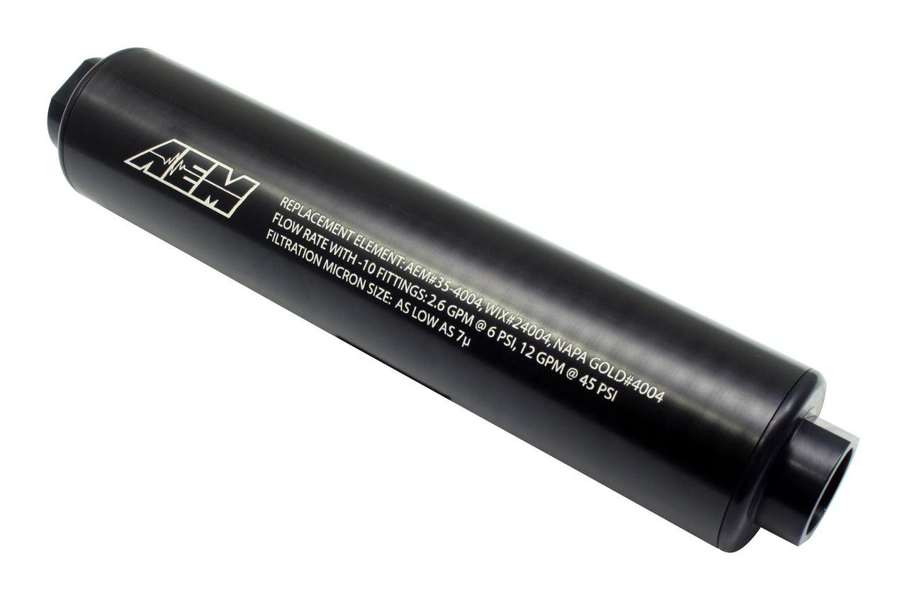 hight resolution of aem fuel filter 7 microns