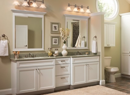 Selecting Cabinets For Your Bathroom Kraftmaid