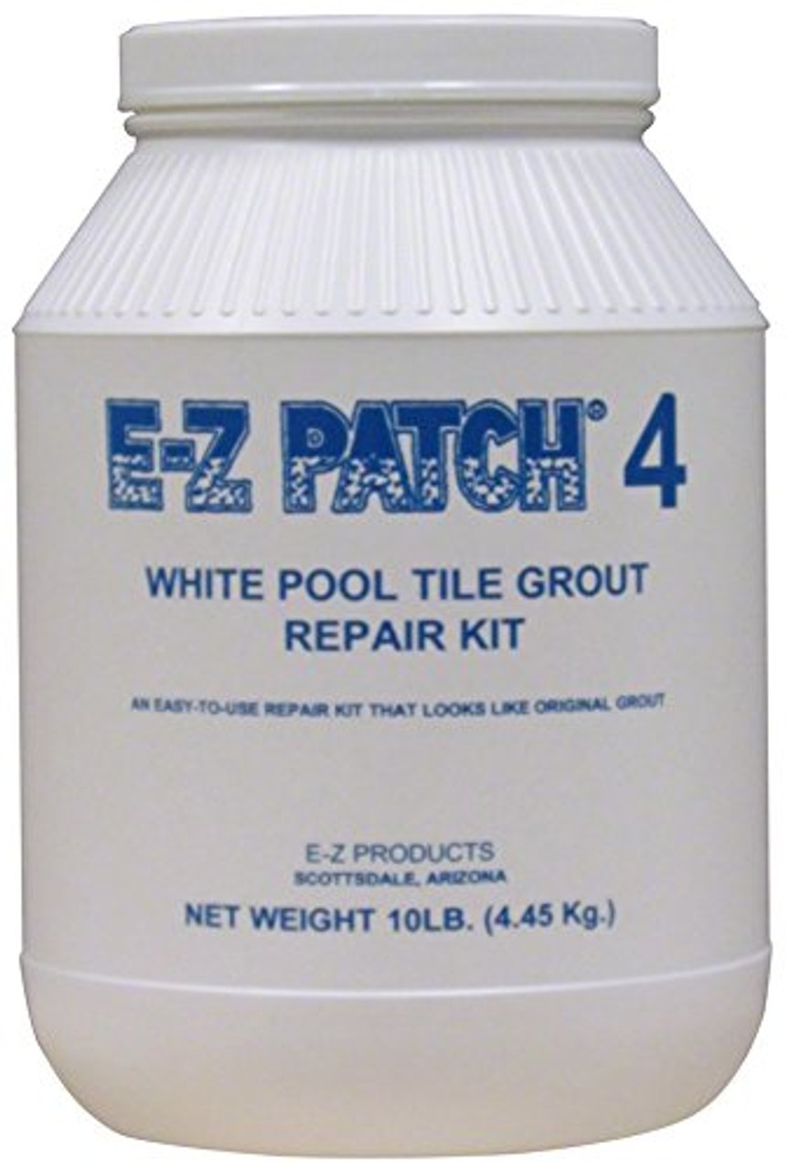 e z products 4 white pool tile grout repair 10 lb ezp 138