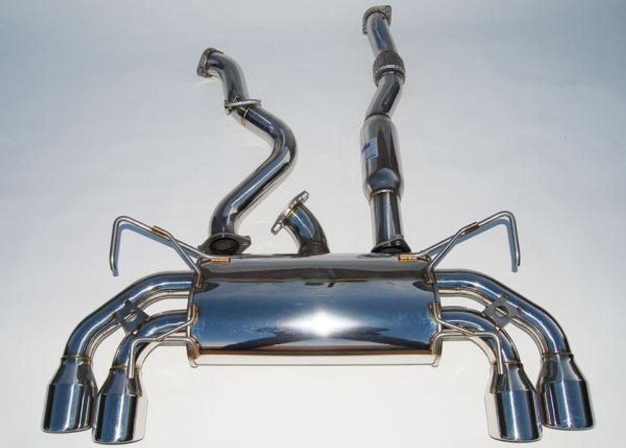 invidia q300 catback exhaust hatchback subaru wrx 2011 2014 wrx sti 2008 2014