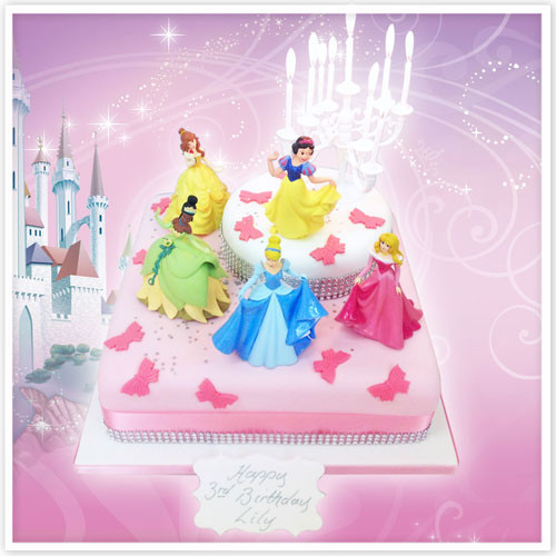 The Continuing Appeal Of Disney Princess Birthday Cakes The