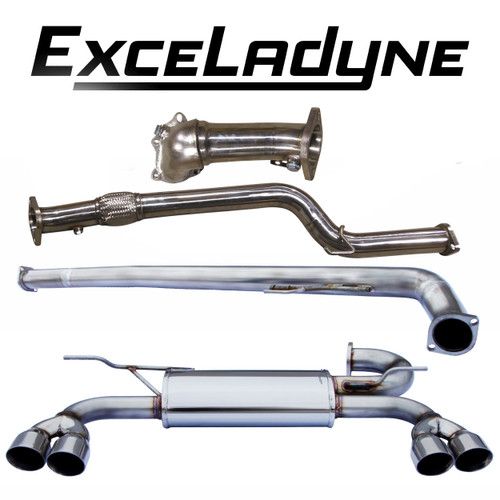 exceladyne turbo back exhaust system genesis coupe 2 0t bk2