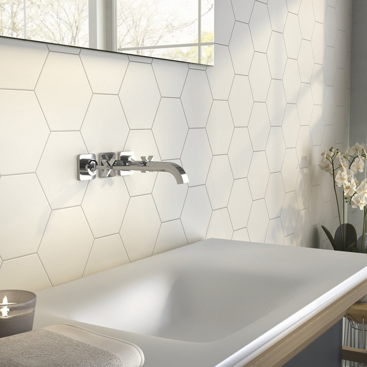 https www tile clearance co uk home collection white 17 5cm x 20 2cm hexagonal tiles 58 sqm
