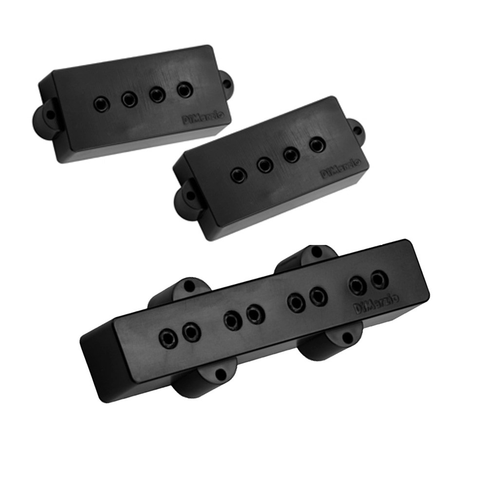 hight resolution of dimarzio dp126 model p j precision jazz bass pickup set macdaddy music