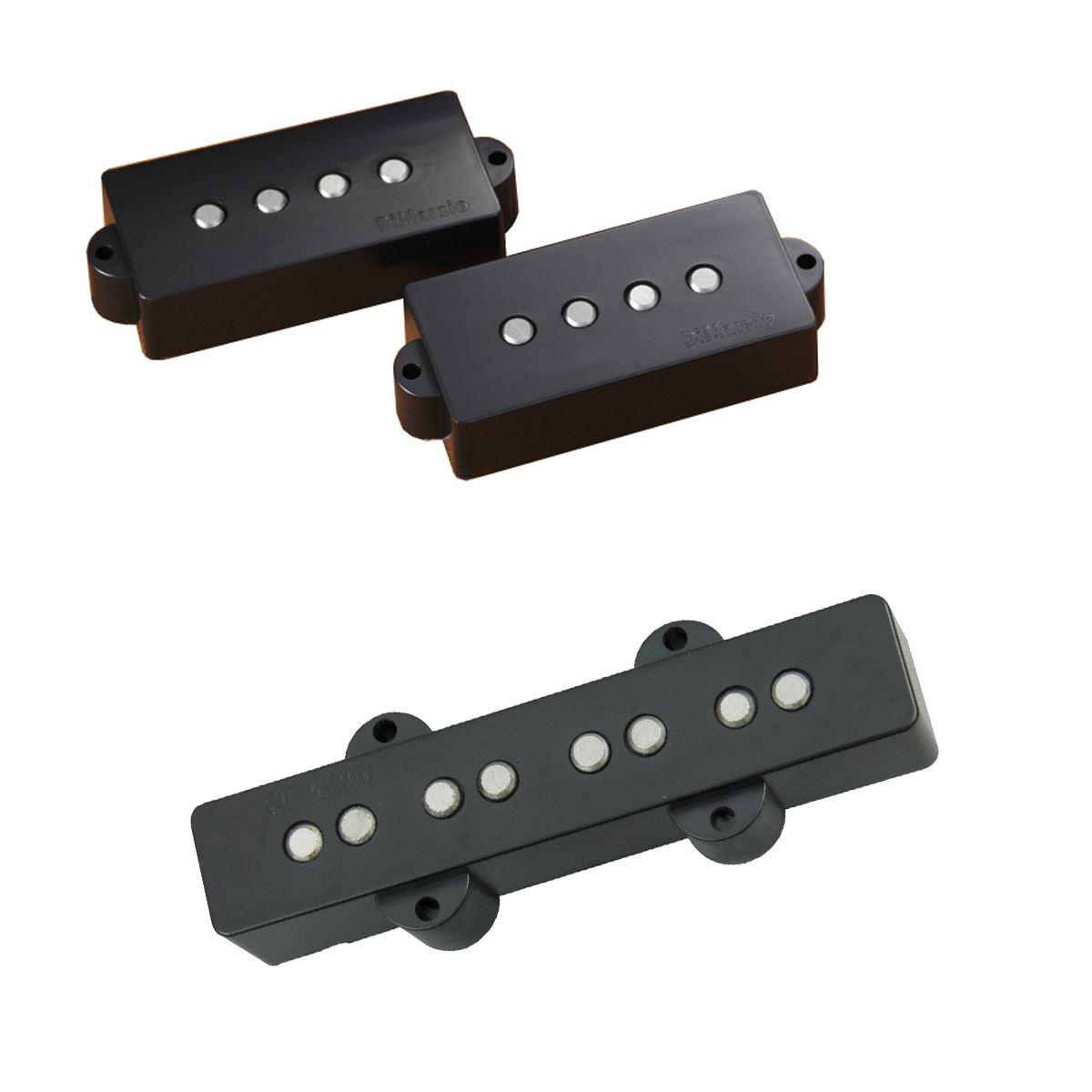 medium resolution of dimarzio dp251 area p j bass pickup set black