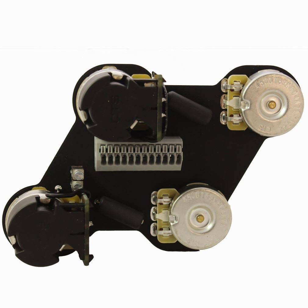 kit obsidianwire custom split coil for les paul 60 s pre wired  [ 1010 x 1010 Pixel ]