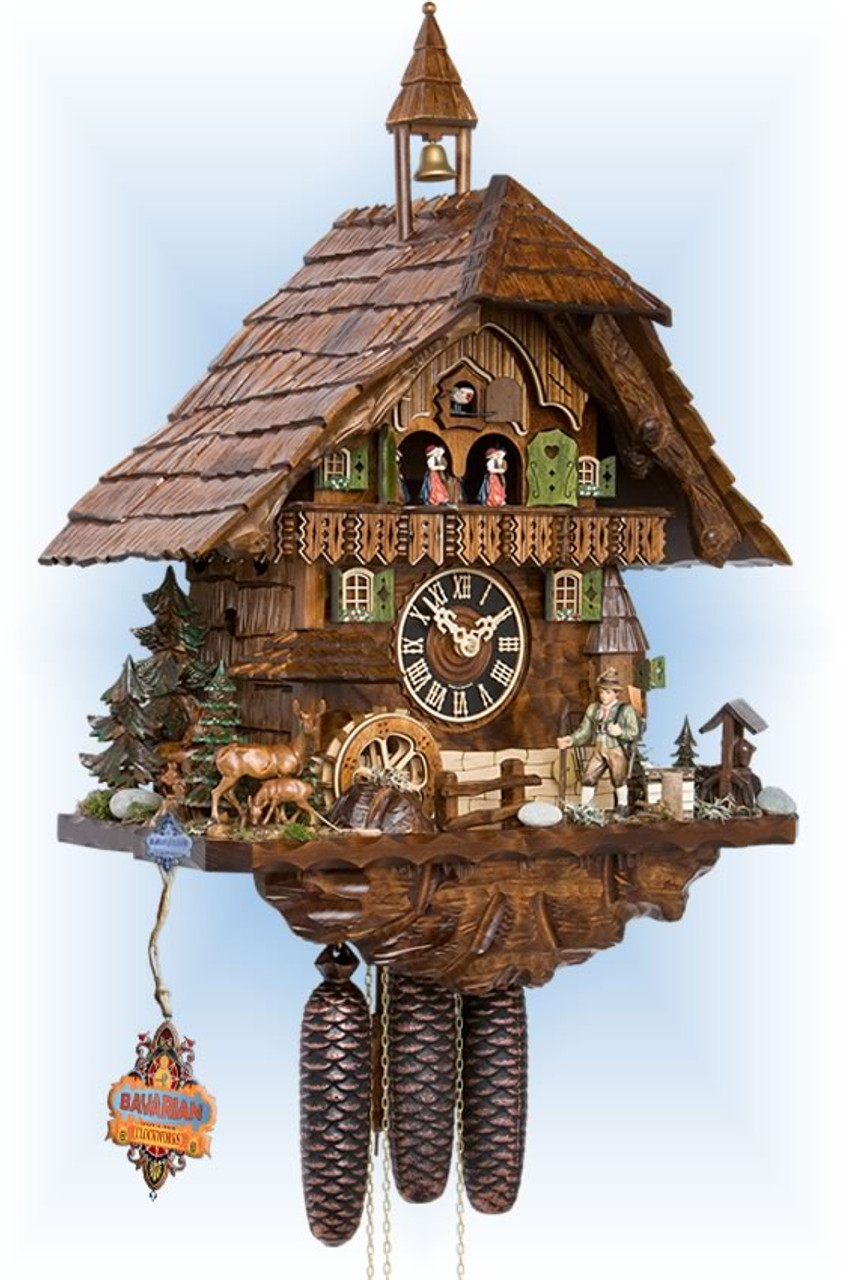Hunters Forest 86740t Cuckoo Clock By Hones On Sale