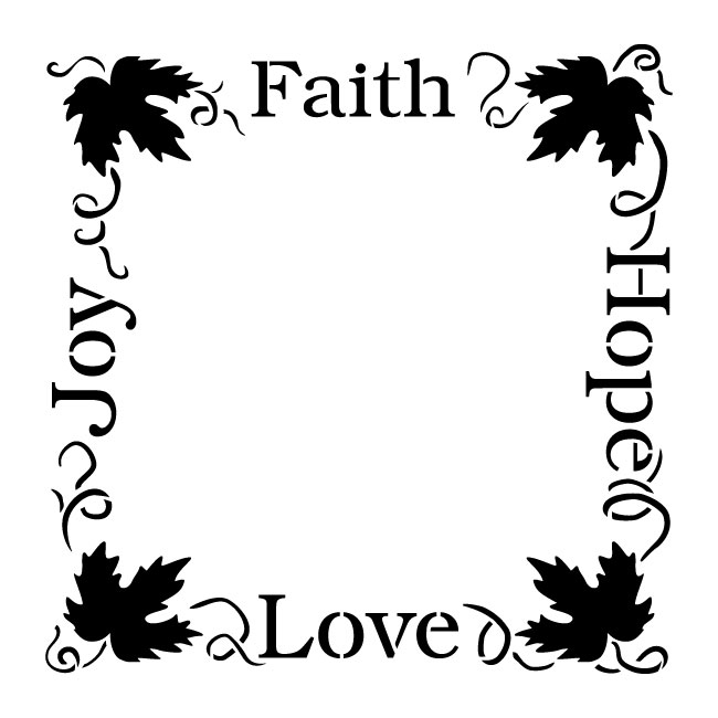faith hope love joy