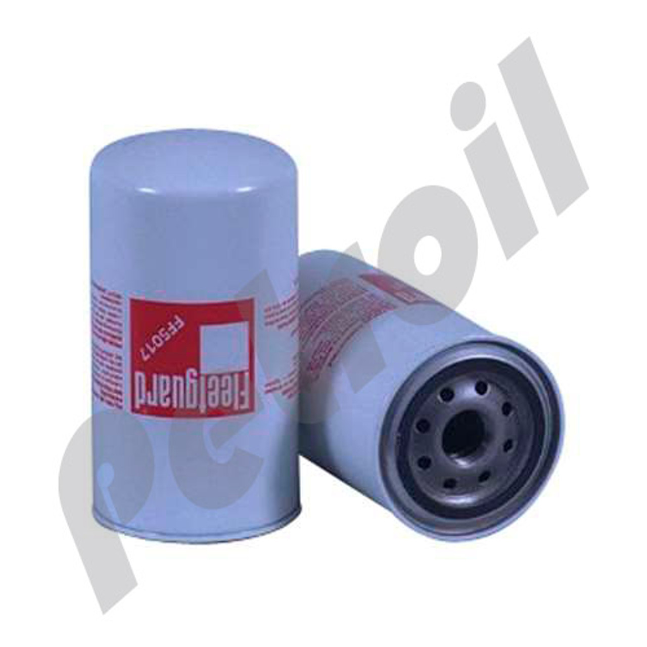 hight resolution of case of 12 ff5017 fleetguard fuel filter spin on thermo king