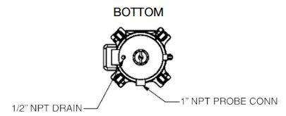 FSK3 Fuel Filter/Water Separator Vessel Kit 150 GPM 250